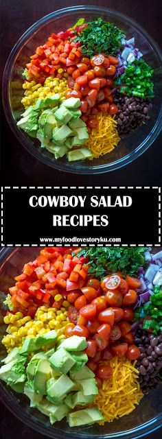 COWBOY SALAD - #recipes