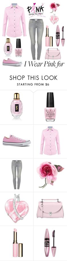 """Untitled #298"" by elizabeth-buttery ❤ liked on Polyvore featuring Yves Saint Laurent, OPI, Converse, DUBARRY, Paige Denim, Gucci, The Bradford Exchange, The Cambridge Satchel Company, Clarins and Maybelline"