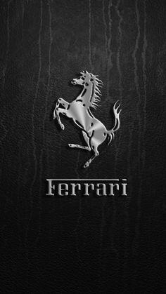Check out this wallpaper for your iPhone: Marca Ferrari, Logo Ferrari, Ferrari Sign, Ferrari Car, Luxury Car Logos, Top Luxury Cars, Car Iphone Wallpaper, Sports Car Wallpaper, Mobile Wallpaper