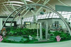 Shanghai Pudong Airport for kids