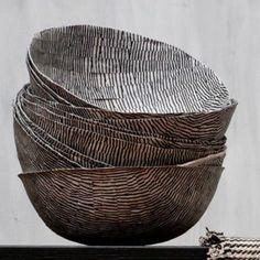 "thecolorcommunity: "" zebra bowls """