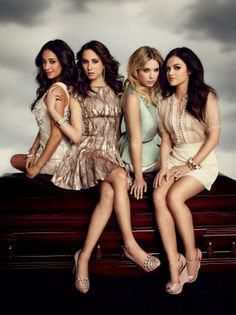 Pretty Little Liars... Such a guilty pleasure.. Can't miss an episode!!!
