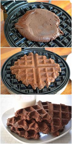 17 unexpected foods you can cook in a waffle iron. From brownies to quesadillas.