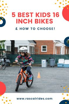 Your 4 to 6 year old will love these 16 inch bikes! In this article, we share the BEST 16 inch bikes, our favorite budget picks, and most importantly, what you should look for when choosing.