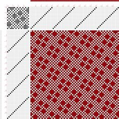 draft image: Page 228, Figure 14, Donat, Franz Large Book of Textile Patterns, 16S, 16T