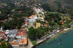Ilha Bela (SP) - Brasil - centro histórico