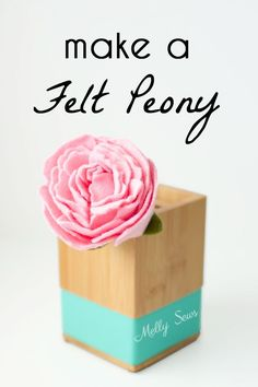 Hey y'all, I'm back today with another felt flower tutorial. Today I'm going to show you how I make a felt peony. I'm busy making templates for my felt flowers, and when I get them done I'll have those available for anyone who wants to buy them, and when that happens I'll update this post Read the Rest...