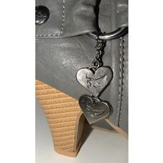 SALE 9 42 ) new grey slouch charm heart boots for Charmed, Wallet, Chain, Grey, Heart, Boots, Stuff To Buy, Gray, Crotch Boots
