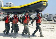 Navy Seals in Training
