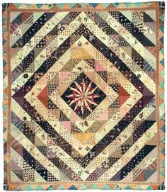 Early Dutch quilt. An Moen  xxx