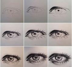 Amazing Learn To Draw Eyes Ideas. Astounding Learn To Draw Eyes Ideas. Realistic Eye Drawing, Drawing Tips, Drawing Reference, Sketching Tips, Pencil Art, Pencil Drawings, Art Drawings, Wallpaper Travel, Anime Kitten