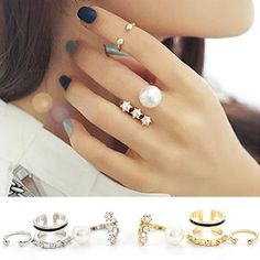 Rocking Rings Set [3 Pieces 1 Set] The name says it all - The rings that rock!! #simplybellary #rings http://www.simplybellary.com/shop/ring/rocking-rings/
