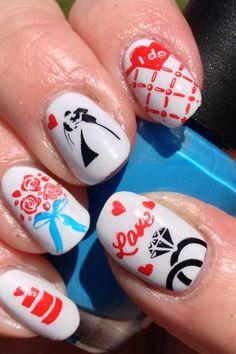 More Wedding Nails!