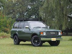 ランクル80丸目換装Ver2 アーミーグリーン Toyota Landcruiser80 FZJ80G