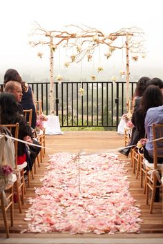 wedding backdrop/altar