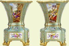 Pair of flower vases    c.1759-61    Sèvres    Acquired by George IV