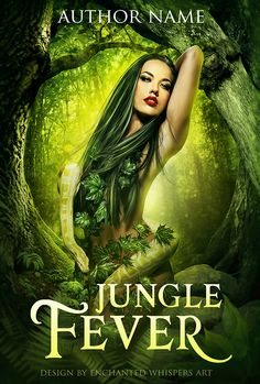 jungle woman with snake premade fantasy book cover design Fantasy Book Covers, Premade Book Covers, Fantasy Women, Book Cover Design, Snake, Wonder Woman, Books, Libros, Snakes