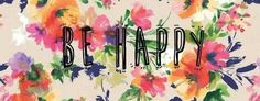 Spring Banner. Sun is out, flowers are blooming. Be happy!