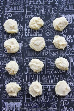 Whipped Shortbread // A melt-in-your-mouth cookie! Egg-free too!