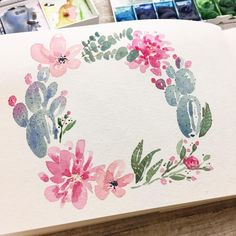 """Polubienia: 8,694, komentarze: 96 – jess (@jeshypark) na Instagramie: """"What to letter... what to letter... . . . . . . . . . #artwork #watercolorpainting #watercolor…"""""""