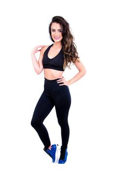 Calça fitness cós alto lisa Ref. 012 - Shopping de Atacado - Trimoda  http://www.trimoda.com.br/collections/moda-fitness-atacado/products/calca-fitness-cos-alto-lisa-ref-012