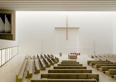The church christening on 9 May 2015 ends the odyssey of the Leipzig parish community that has lasted over seventy years. With the construction of the new church, St. Trinitas has returned to the centre of the city. For us as architects it was... #religiousarchitecture