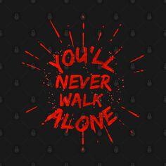 You'll Never Walk Alone, Football Art, Walking Alone, Liverpool Fc, Neon Signs, String Art