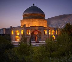 """Photo by @simonnorfolkstudio  Pleased to see my work for the Aga Khan Trust for Culture (AKTC) featured in a new book, """"AFGHANISTAN Preserving Historic Heritage"""" by the Aga Khan Historic Cities Programme.  Here a photograph of the restored Timur Shah Mausoleum set within a public garden adjacent to the Kabul River. One of the largest surviving Islamic monuments in central Kabul, the mausoleum of Timur Shah marks the grave of the son of Ahmad Shah Durrani, who effectively crated the modern…"""