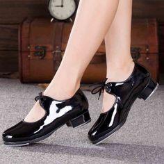Donne adulte Scarpe Da Tip Tap scarpe Da Ballo scarpe da Ballo  Professionali Toccare scarpe PU a639bc4591c