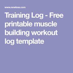 FreeWorkoutLog  Workout Log    Workout Log Workout