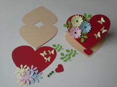 Hobbies And Crafts, Diy And Crafts, Arts And Crafts, Projects For Kids, Art Projects, Engagement Ring Platter, 8 Martie, Mini Scrapbook Albums, Handmade Decorations