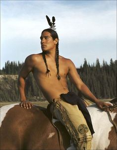 random ..... very useful to have a picture of a hot cherokee indian in case you run into one in the woods