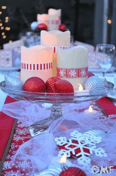 Outdoor Christmas Party - great ideas for creating a beautiful party
