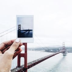 Golden Gate Bridge | San Francisco by @tanagandhi Golden Gate Bridge, Wander, San Francisco, Polaroid Film, In This Moment, Explore, Photo And Video, City, Photos