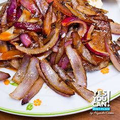 Feeling like a carnivore tonight? Try this delicious and healthy Sirloin with Onions dinner recipe by Yes You Can! Diet Plan