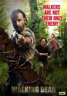 The Walking Dead - Season 5 Poster by TavoFones17