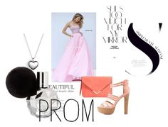 """Pink Sherri Hill 32362 Beaded Taffeta 2016 Prom Dress"" by chrissybarby ❤ liked on Polyvore featuring Sherri Hill, Charlotte Russe, Rika, Pandora, Prom and biygown"