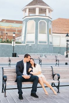 Location Ideas for a Old Town Alexandria, VA Engagement Session