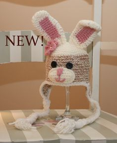 CROCHET PATTERN Sock Bunny Hat  Sizes Newborn to Adult Welcome to sell finished items. $4.99, via Etsy.