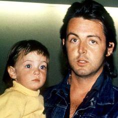 Paul & Mary McCartney taken by Linda McCartney