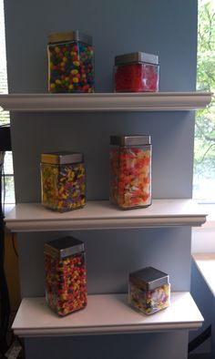 Our four-legged staff aren't the only ones deserving of a treat every now and then! At Petplan pet insurance, everyone gets a treat jar!