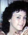 "Brenda Gail Lambert   Missing since July 26, 1992 from Bluewell, Mercer County, WV  Classification: Endangered Missing  The Doe Network: Case File 1772DFWV  Date Of Birth: December 26, 1969  Age at Time of Disappearance: 22 years old  Height and Weight: 5'2""; 110-115 lbs.  Distinguishing Characteristics: White female. Black, shoulder-length, curly hair; dark blue eyes.  Marks, Scars: 1"" scar on right wrist; birthmark on the back of leg.  Dentals: Available"