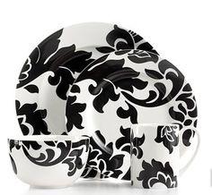 Martha Stewart Dinnerware Collection- Lisbon Black. 15% with code EXTRA