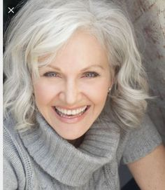 Hairstyles For Gray Hair Pleasing 60 Gorgeous Gray Hair Styles  Grey Is Beautifulsandra Frank