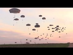 British Army Paratrooper Jumps with  82nd Airborne Soldiers