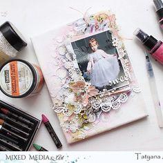 Gorgeous! ❤️#Repost @rtatiankas ・・・ Холст с нашей Алисой для блога @mixed_media_art_ . Получился очень нежный и невесомый. Использовала бумагу и порошковые краски от @fabrikadecoru, спреи @lindysgang, а также любимые материалы от @primamarketinginc и @prima_mixedmedia. Ну и попробовала наконец новую масочку от @muscari_scrap #скрапбукинг #миксмедиа #scrapbooking #mixedmedia #primamarketinginc #muscariscrap #садомскаяскрап
