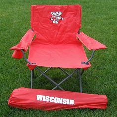 Outdoor Rivalry Collegiate Folding Adult Tailgate Chair - RV439-1000