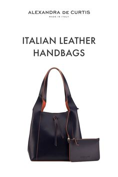 Are you looking for a designer leather handbag? Click through to check out the Hobo, handmade in Italy with smooth