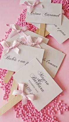 EYDER Wedding DESIGN: I segnagusto per la confettata