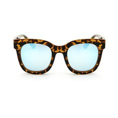 Quay Australia QW-000065 MY GIRL BLK/BLUE Sunglasses (86 BGN) ❤ liked on Polyvore featuring accessories, eyewear, sunglasses, tortoise, quay eyewear, blue glasses, lens glasses, tortoiseshell sunglasses and tortoise glasses
